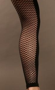 Leggings résille à l'arrière de la jambe 8349