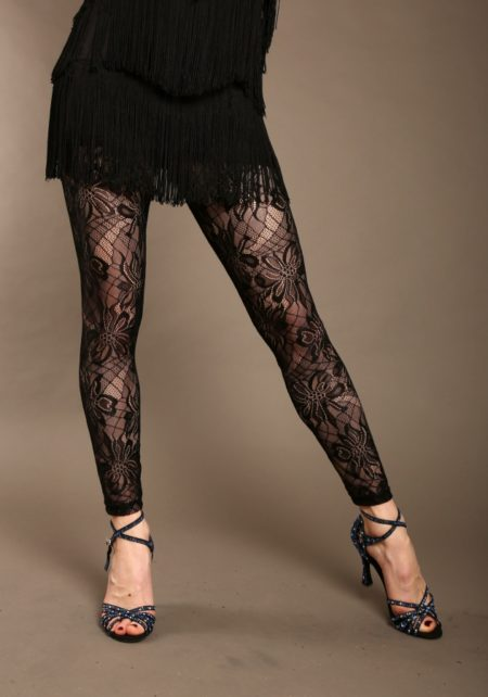 Leggings en dentelle 8351