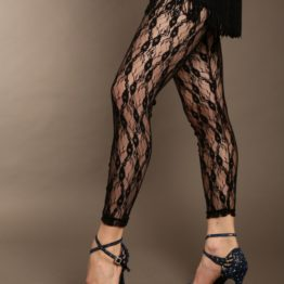 Leggings en dentelle 8353